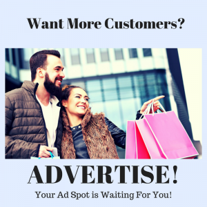 Want More Customers? ADVERTISE! Place Your Ad Here!